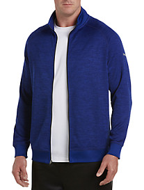 Reebok Golf Mélange Full-Zip Speedwick Fleece Jacket