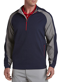 Reebok Golf Colorblock ¾-Zip Windshirt