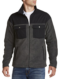 Columbia® Double Pocket Fleece Jacket