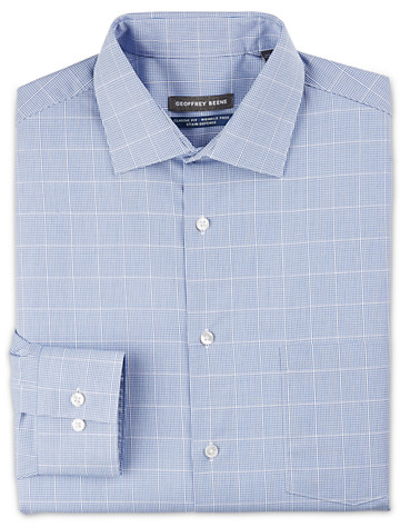 Geoffrey Beene® Large Grid Dress Shirt ( Mix & Match Geoffrey Beene, Gold Series & Synrgy Dress Shirts )