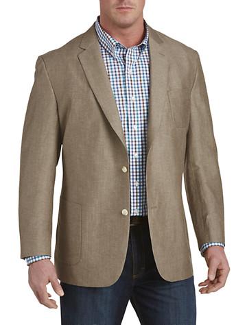 Jean-Paul Germain Linen-Blend Sport Coat (khaki)
