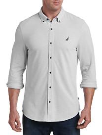 Nautica® Stripe Piqué Knit Sport Shirt