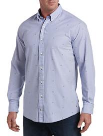 Nautica Bengal Stripe Poplin Sport Shirt