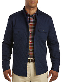 Nautica Quilted Woven Shirt Jacket