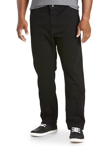 Nautica® Straight-Fit Black Jeans