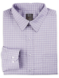 Gold Series Heather Med Grid Dress Shirt
