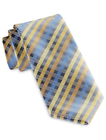 Geoffrey Beene® Moonbeam Plaid Tie