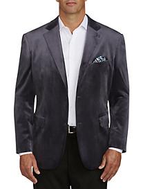 Oak Hill® Velvet Jacket-Relaxer™ Sport Coat