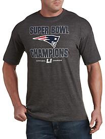 NFL Super Bowl New England Patriots Champion Run Down Tee