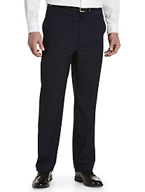 Geoffrey Beene® Mini Check Flat-Front Suit Pants