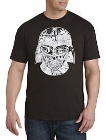 Darth Vader Helmet Time Graphic Tee