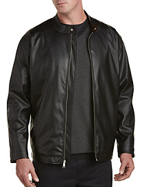 Synrgy™ Leather-Like Moto Jacket