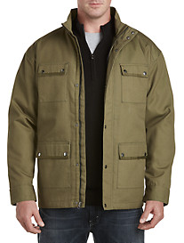 Synrgy™ 4-Pocket Canvas Military Jacket