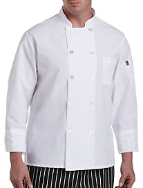Red Kap Pearl-Button Chef Coat