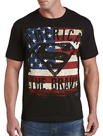 Superman America The Brave Graphic Tee
