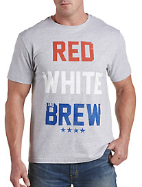 Red, White & Brew Graphic Tee