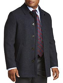 Lauren Ralph Lauren Ledbetter Herringbone Overcoat