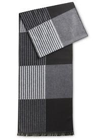 New York Accessory Stripe Colorblock Scarf
