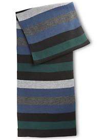 New York Accessory Stripe Muffler Scarf