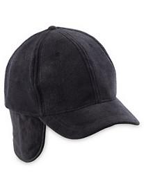 New York Glove Company Fleece Ear Flap Baseball Cap