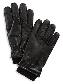New York Glove Company Finger-Logic Leather Gloves
