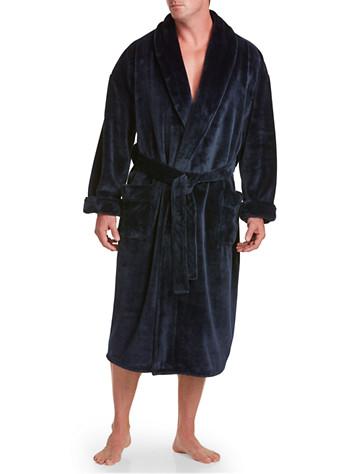 Harbor Bay® Nailshead Fleece Robe