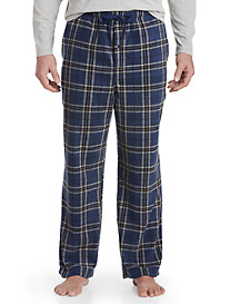 Harbor Bay® Plaid Fleece Lounge Pants