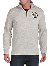 NHL CCM Heather Fleece 1/4-Zip Pullover