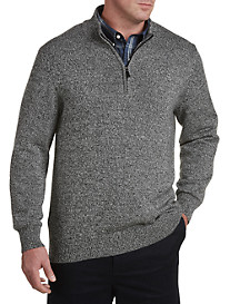 Oak Hill® Marled ¼-Zip Sweater