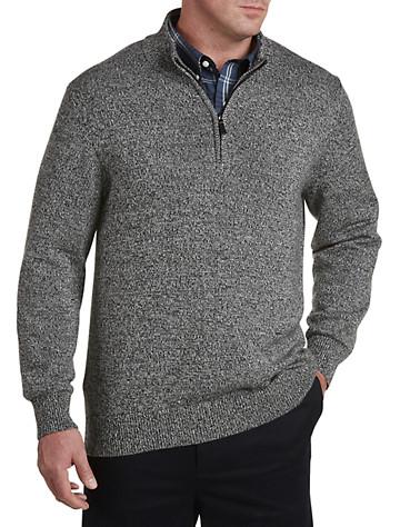 Oak Hill® Marled ¼-Zip Sweater | Sweaters & Vests