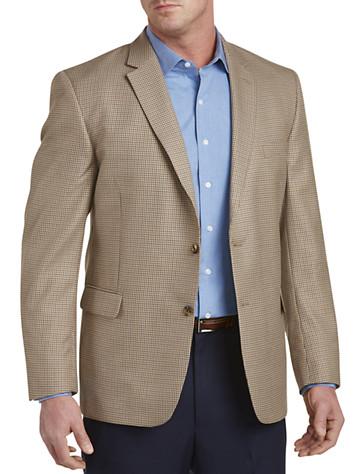Jean-Paul Germain Mini Check Sport Coat--Executive Cut - Available in khaki