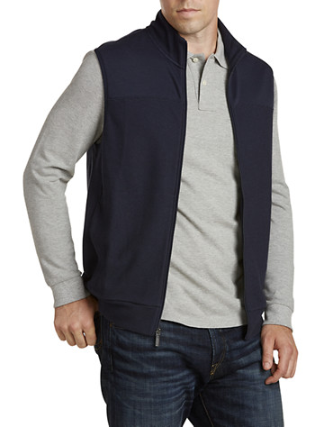Big & Tall Perry Ellis 174 Ribbed-Knit Vest
