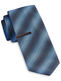 Gold Series Ombré Textured Stripe Tie
