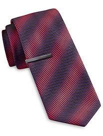 Gold Series Ombré Textured Stripe Tie