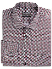 Geoffrey Beene® Dot-Print Dress Shirt