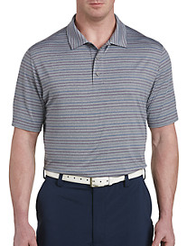 Reebok Speedwick Power Heather Stripe Polo