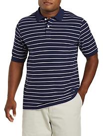 Harbor Bay® 3-Stripe Polo