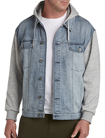 Updated Denim Jacket - Available in light wash