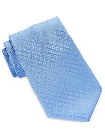 Geoffrey Beene® Floral Detailed Solid Tie
