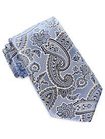 Geoffrey Beene® Large Floral Paisley Tie