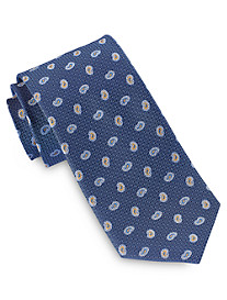 Geoffery Beene® Mini Paisley Medallion Tie