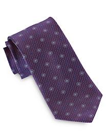 Geoffery Beene® Small Floral Medallion Tie