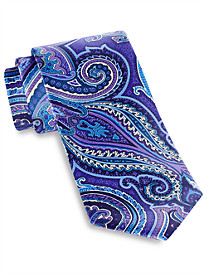 Geoffrey Beene® Exploded Charming Paisley Tie
