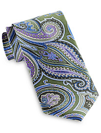 Geoffrey Beene Exploded Charming Paisley Tie