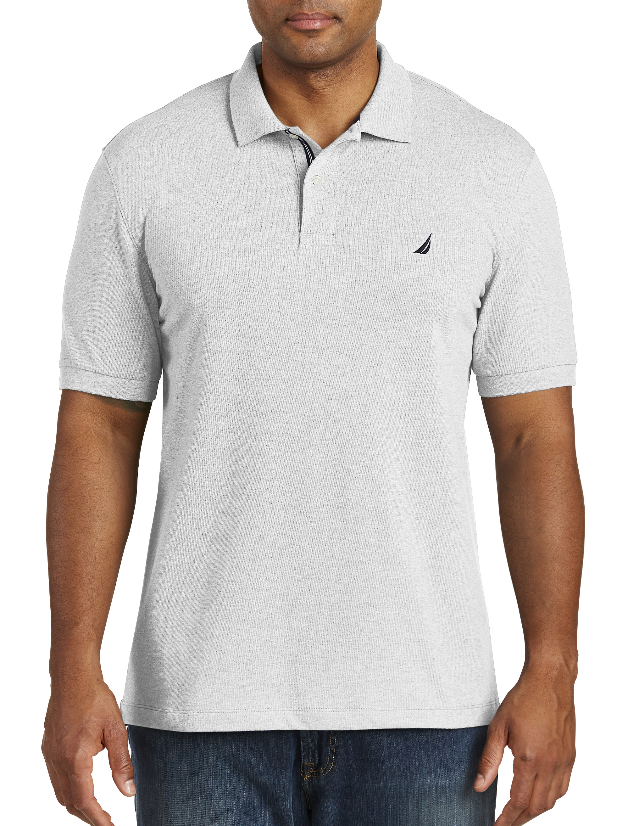 Nautica Stretch Piqu Polo Shirt | Tuggl