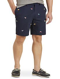 Nautica® Flag-Print Shorts