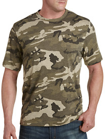 Harbor Bay® Camo No-Pocket Tee