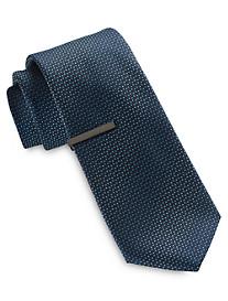 Gold Series Mini Ombré Dot Tie with Tie Bar