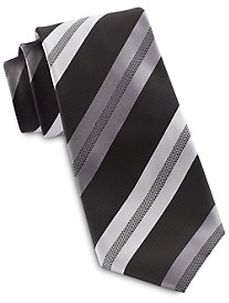 Synrgy™ InteliStretch Performance Textured Stripe Tie