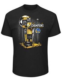 NBA Champions 2017 Golden State Warriors Tee